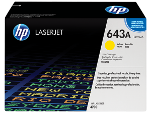 HP Yellow Toner 643A [Q5952A]