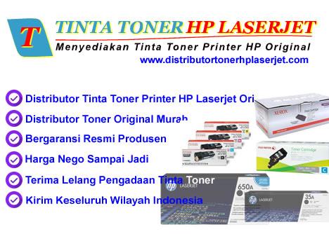 TINTA TONER HP LASERJET | DISTRIBUTOR TINTA TONER HP LASERJET